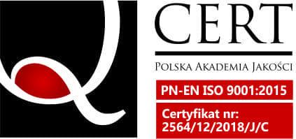Certyfikat Polskiej Akademii Jakości